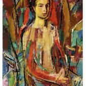"""Rudolf Szyszkowitz, """"Mädchenbildnis Ingrid Müller"""", 1956, © Neue Galerie Graz, Foto: Universalmuseum Joanneum"""