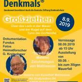 Tag des offenen Denkmals mit Gerd Kretschmer und Artist Mattiesson