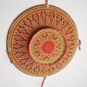 Kezhia Orege  Hararitribebasket Ethiopia  mid 20th century 75.5 cm high x 75.5 cm wide