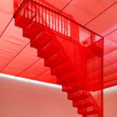 Do Ho Suh red architectural installations