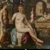 Carlo Orsi-Trinity Fine Art Frans Floris de Vriendt (Antwerp 1519/20-1570) Susanna and the Elders Oil on panel 154 x 181.5