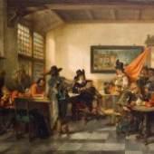 Herman Frederik Carel Ten Kates, Gildegesellschaft im Wirtshaus