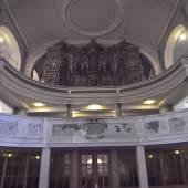 Blick ins Innere der Unterkirche in Bad Frankenhausen © Deutsche Stiftung Denkmaslchutz/Zimpel