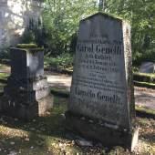 Grabanlage Bonaventura Genelli auf dem Historischen Friedhof in Weimar © Deutsche Stiftung Denkmalschutz/Siebert