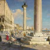 Theodor Groll, Markusplatzes in Venedig, 58.750 Euro