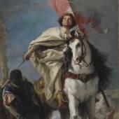 Giovanni Battista Tiepolo, Der heilige Jakobus der Ältere, 1749–50, Öl auf Leinwand, Budapest, Szépművészeti Múzeum © Szépművészeti Múzeum - Museum of Fine Arts Budapest 2019
