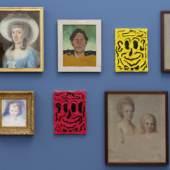Blicke aus der Zeit, Installationsansicht Kunstmuseum St. Gallen, Foto: Stefan Rohner