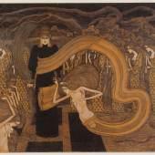 Jan Toorop FATALISME (Fatalismus) 1893 Kröller-Müller Museum, Otterlo