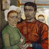 Jan Toorop GELOOF EN LOON (Glaube und Arbeit) 1902 Triton Collection Foundation