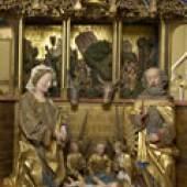 Traminer Altar Hans Klocker Brixen, um 1485/90 © Bayerisches Nationalmuseum München