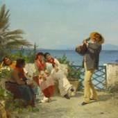 Adolf Treidler Am Posillipo bei Neapel, 1888 Öl auf Leinwand, 98 x 128 cm Kunsthaus Zürich