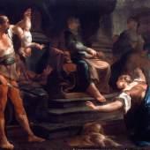 Paul Troger, Salomons Urteil, 1749, Öl auf Leinwand, Inv.-Nr.: 2153-49, © Salzburg Museum