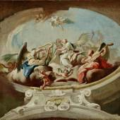 Paul Troger, Engelskonzert (Hl. Cäcilie), 1744, Öl auf Leinwand, Inv.-Nr.: FO LS 134, © Salzburg Museum