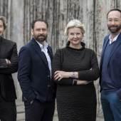 Lars Krückeberg, Thomas Willemeit, Marianne Birthler und Wolfram Putz