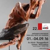 Plakat: 22. Grödner Kunstmesse (c) unika.org