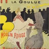 Moulin Rouge, La Goulue, poster for the Dance Hall Le Moulin Rouge  Henri de Toulouse-Lautrec, 1891