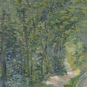 Vincent van Gogh, Path in the Woods, 1887