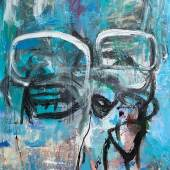 Untitled Acrylicand Oilon Canvas 81x56in uS8000