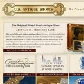 Unternehmenslogo US Antique Shows