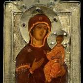 Russian and Greek icons  Hodigitria Mother of God    Jan Morsink Ikonen