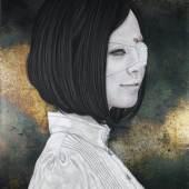 Takahiro Hirabayashi, phantom pain, 2014, mixed media, 53 x 41 cm  Image courtesy GALLERY KOGURE (Tokyo)