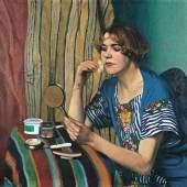 Félix Vallotton, La poudreuse, 1921 Öl auf Leinwand, 82 x 100 cm Privatbesitz