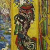 Vincent van Gogh Japonaiserie (nach Keisai Eisen), 1887 Öl auf Baumwolle, 110,3 x 60 cm Van Gogh Museum Amsterdam (Vincent van Gogh Foundation)