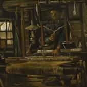 Vincent van Gogh Weber am Webstuhl (A Weaver´s Cottage), 1884