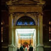 Bildsujet: MAK-Eingang / Entrance to the MAK © Gerald Zugmann/MAK