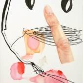 Charlotte Klobassa, Scribble 23 (Stupsi), 2018, Courtesy Galerie Zeller von Almsick