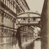 Giuseppe Cimetta (Lebensdaten unbekannt) Seufzerbrücke, um 1850/53 Salzpapier von einem Papiernegativ © Bayerische Staatsgemäldesammlungen / Sammlung Dietmar Siegert