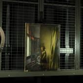 Gemälde während der Firnisabnahme Johannes Vermeer, Brieflesendes Mädchen am offenen Fenster, um 1657-1659, Öl auf Leinwand, Gemäldegalerie Alte Meister  © SKD, Foto: Wolfgang Kreische
