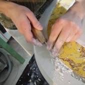 Atelier Mahr - Scagliola-Arbeit © Atelier Mahr