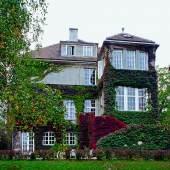 Villa Dr. Edmund Bernatzik, Blick vom Garten, Josef Hoffmann © Walter Zednicek