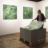 """Ausstellungsansicht """"Ein Quadratmeter Land"""", Claudia Märzendorfer Ausstellungsansicht """"Ein Quadratmeter Land"""", Claudia Märzendorfer © KUNST HAUS WIEN 2017, Foto: Eva Kelety"""