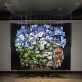 "Installationsansicht ""Mountain 2015"", Ola Lanko Installationsansicht ""Mountain 2015"", Ola Lanko © KUNST HAUS WIEN 2017, Foto: Eva Kelety"