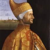 Vittore Carpaccio (um 1465-1525/26) (0-0): Der Doge Lorenzo Loredan, um 1501-1505, Museo Correr, Venedig