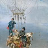 Theodor Pixis, Tausend Meter über München, 1890, München, Deutsches Museum