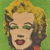 Andy Warhol (1928 – 1987)  Marilyn Monroe | 1997| Wandteppich | 185 x 180 x 5cm Ergebnis: € 19.350