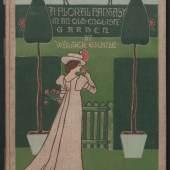 "Walter Crane/Edmund Evans BUCH ""A floral fantasy in an old english garden."" 1899 Papier, illustriert Bröhan-Museum, Berlin Foto: Martin Adam, Berlin"
