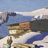 WALDE, Alfons 1891 – 1951 Einsamer Berghof 1935     Auktion 61 28. Mai 2015 Auktionsergebnis € 281.250