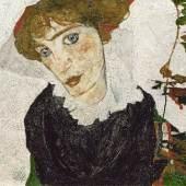 Egon Schiele (1890-1918) Bildnis Wally Neuzil, 1912 Öl auf Holz 32,7 x 39,8 cm Leopold Museum Wien, Inv. 453