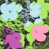 Warhol, Andy Flowers 1970 Galerie Haas & Gschwandtner