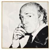 Andy Warhol Eric C. Jacobson | 1980 Serigrafie, Diamantenstaub  üb. Acryl auf Lw. | 101x101cm Taxe: €80.000 – 120.000