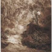 Adrian Zingg, Wasserfall Liebethaler G
