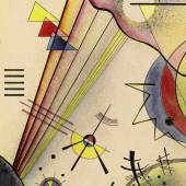 Wassily Kandinsky, Deutliche Verbindung (Clear Connection), watercolour & Indian ink on paper (est. £800,000-1,200,000)