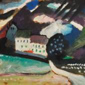 Wassily Kandinsky, Murnau, Schloss und Kirche II