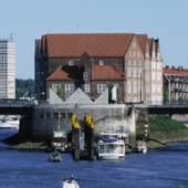 Die Weserburg. Ansicht von der Weser. (c) weserburg.de