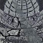 Peter Wechsler Kafkas Himmel, 24.4.-3.5.1970 Feder, Tusche auf Karton, 70 x 50 cm Privatbesitz, © 2016 ProLitteris, Zürich