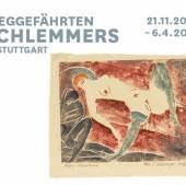 Edmund Daniel Kinzinger, Liegender Akt mit Strümpfen, 1912/1913, Farblinolschnitt auf hellbraunem Japanpapier, 29,4 x 35,8 cm, Staatsgalerie Stuttgart, Graphische Sammlung